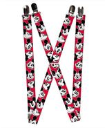 Disney Mickey Mouse Expressions Logo Suspenders  - $13.99