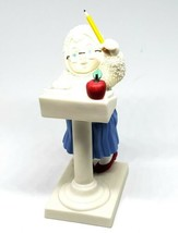 VINTAGE Department 56 Teacher Helper Snow Baby Ornament FREE SHIPPING - $22.49