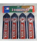 MLB Boston Red Sox Set of 4 Ultradepth 3D Bookmarks - New - $7.99