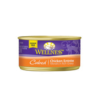 Wellness Pet Products Cat Food - Chicken Entr�e - Case of 24 - 3 oz. - $49.58
