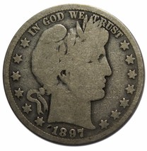 1897O Liberty Barber Head Half Dollar 50¢ Silver Coin Lot A 2260