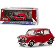1967 Austin Mini Cooper S 1275 MkI Red The Italian Job (1969) Movie 1/43... - $35.00