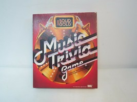 Solid Gold Music Trivia Game 1984 By Ideal Complete                          - $14.85