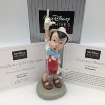 Disney Archives Pinocchio Maquette Statue Figurine LE 2296 COA New 4051364 - $72.75