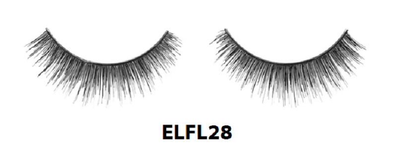 Primary image for ABSOLUTE NY 100% HUMAN HAIR REMY FABLASHES NOTHING BUT DRAMA EYELASHES ELFL28