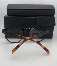 New PRADA Eyeglasses VPR 29R 1AB-1O1 54-17 140 Black Cat Eye Frames w/ Clear