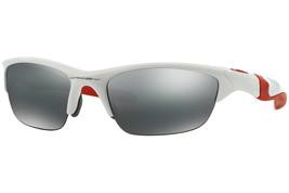 Oakley Medio Chaqueta 2.0 Pulido Blanco W / Negro Iridio OO9144-17 - $205.74