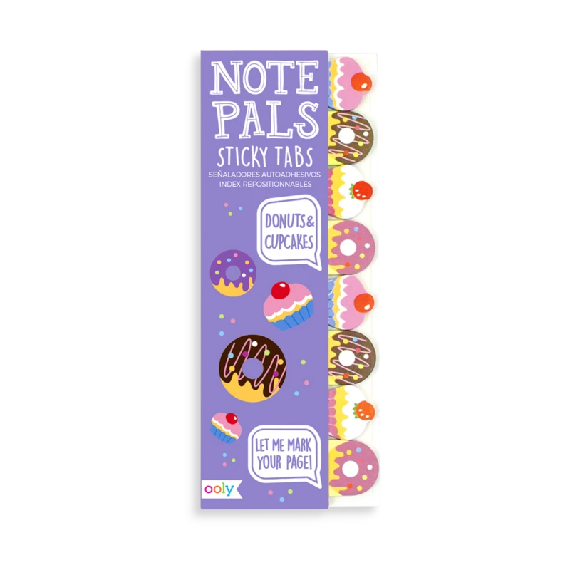 OOLY Note Pals Sticky Tabs Donuts & Cupcakes 121-014