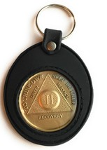 AA Medallion Year 1 - 65 or Month 1 - 11 and Universal Silicone Medallion Holder - $14.35