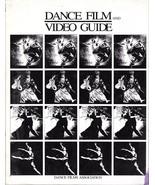 DANCE FILM AND VIDEO GUIDE (1991) Princeton Out Of Print RARE BIG BOOK E... - $9.99