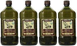 Kirkland Signature, Organic Extra Virgin Olive Oil 3.6 Ounce zdExB (Pack of 4) - $185.02