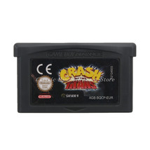 Crash of the Titans GBA Game Boy Advance Reproduction Cartridge EU English - $11.99