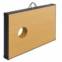 "Durable 47"" Foldable Wooden Bean Bag Toss Cornhole Game Set - Outdoor Rec. - $105.44"