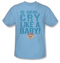 Cry Baby T-shirt Free Shipping distressed vintage style blue cotton tee DBL152 image 2