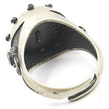 925 Silber Ring, Brüniert und Matt, Ruder, Seil Nautica, Taucher image 4