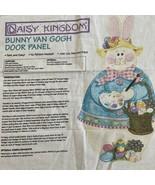 Daisy Kingdom Easter Bunny Van Gogh Fabric Panel Door Wall Sandi Gore Evans - $9.75