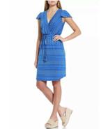 Tommy Bahama Dunmore Polka Dot Short Dress Turkish Sea Blue Size M NWT $150 - £29.25 GBP