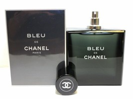 Bleu de Chanel Pour Homme 3.4 oz. Men Perfume EDT Cologne Fragrance Blue... - $135.79