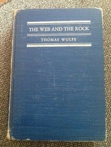 The Web and The Rock Thomas Wolfe Hardcover Book - $1.98