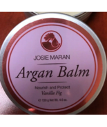 Josie Maran Argan Balm Nourish and Protect Vanilla Fig 4.6 oz  - $12.39