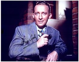BING CROSBY  Authentic Original AUTOGRAPHED SIGNED PHOTO w/ COA 1185 - $225.00