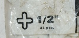 Superiorbilt 81P12B Tile Spacers One Half Inch 35 Count Cross Shape image 2