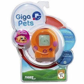 Giga Pets Puffball Handheld Game