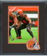 J.C. Tretter 2018 Cleveland Browns -11x14 Team Logo Matted/Framed Photo - $43.55