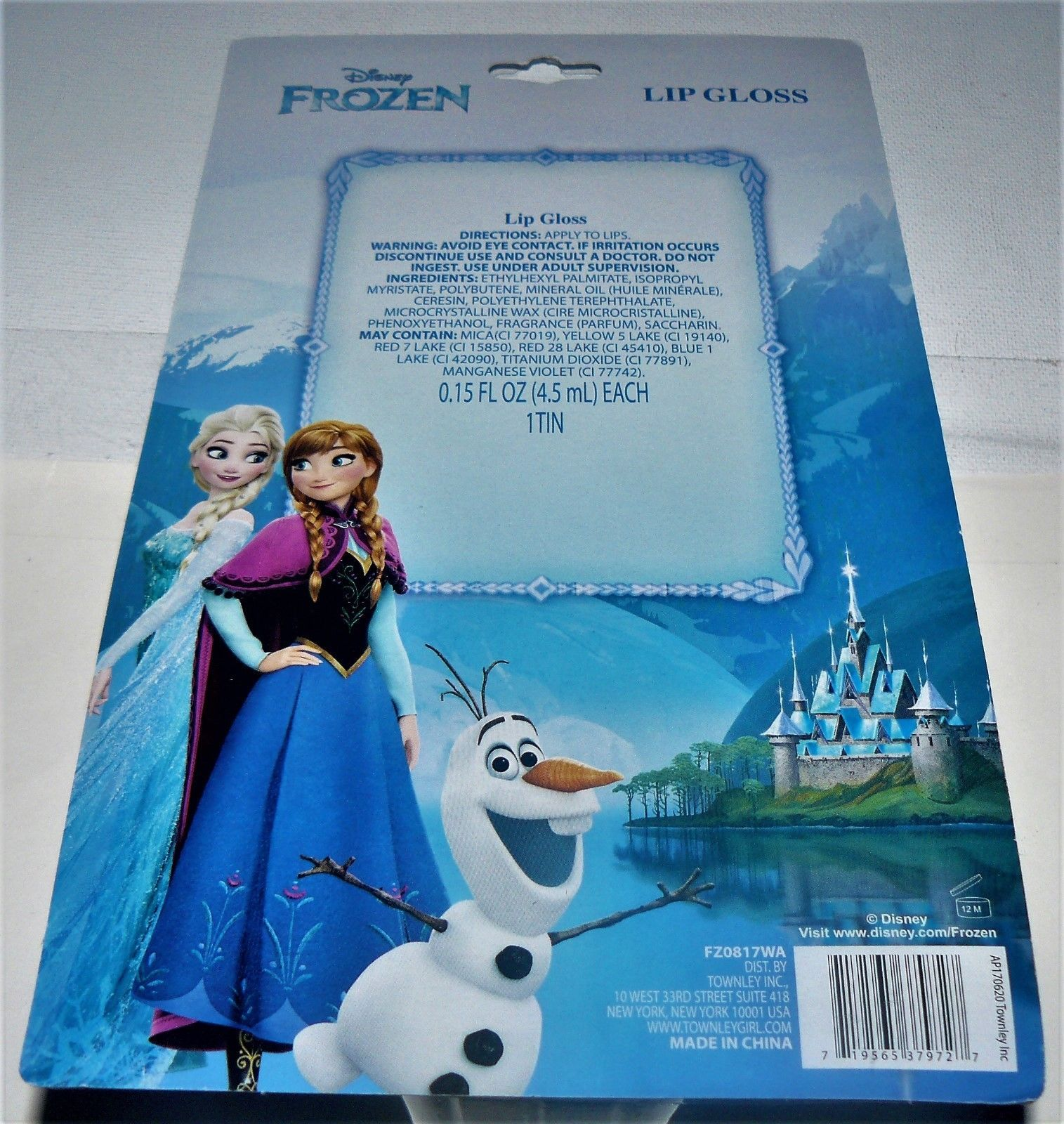 Disney Frozen 5 Piece Lip Gloss with and similar items