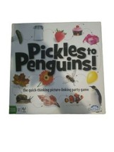 Used Outset Media - Pickles to Penguins Family Game - Quick Thinking Car... - $24.74