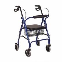 HealthSmart Rollator Walker Adjustable Handle Height Folding Walker Ligh... - $136.57