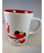 Starbucks Christmas Coffee tea Cup Mug with Red Birds 9 oz. - $8.90