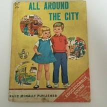 All Around the City Vintage Children's Book Start Right Elf Book Bedtime... - $5.99