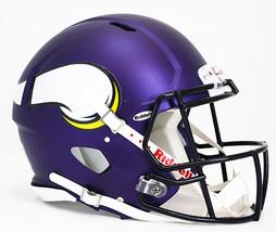 Minnesota Vikings Helmet Riddell Authentic Full Size Speed Style**Free Shipping* - $290.00