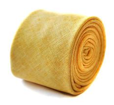 Frederick Thomas uomo aderente oro giallo LINO CRAVATTA ft1904 6.5cm
