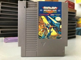 Bionic Commando, Nintendo Entertainment System (NES) 1988, Tested - $8.72