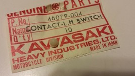 Kawasaki S2 H1 H2 Switch Contact Lh 46079-004 Nos - $3.52