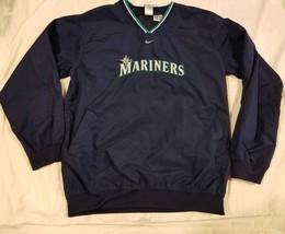5504c0496b Nike Team Baseball Seattle Mariners Pullover Windbreaker Jacket Blue MLB -   35.27