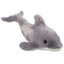 "Huge Grey Dolphin Plush Toy (29"") Stuffed Zoo Sea Creature Animal  - $23.74"