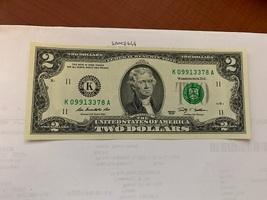 United States Jefferson $2 uncirc. banknote 2009  #5 - $7.95