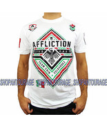 Affliction Velasquez Force A12486 New Short Sleeve Sport MMA T-shirt for... - $49.03