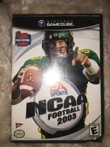 NCAA Football 2003 (Nintendo GameCube, 2002) - $6.92