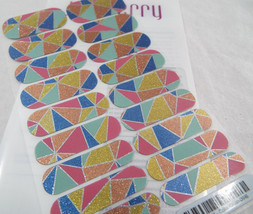 Jamberry Color Crush 0916 SX201603 Nail Wrap Full Sheet - $13.45