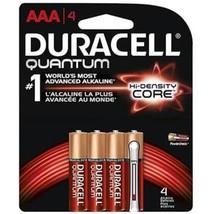 Duracell QU2400B4 Quantum AAA Alkaline Battery - 4 Pack - $21.66