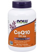 NOW Supplements, CoQ10 100 mg with Hawthorn Berry, Pharmaceutical Grade - $118.94