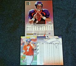 John Elway #7 Denver Broncos and Dan Reeves Trading Cards AA-19FTC3005a Vintage image 7