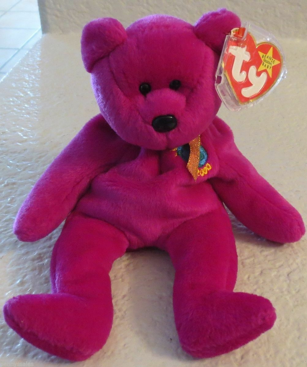 Primary image for Ty Beanie Baby Millennium 5th Generation 1999 NEW