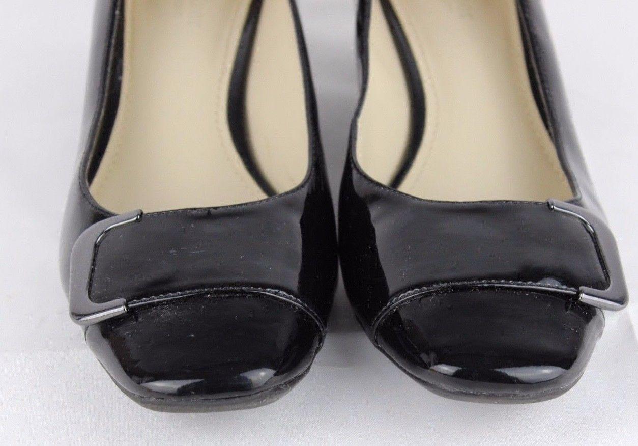 f56c2d1d54bd Naturalizer N5 comfort xoe women s shoes slip on heel black size 8.5 W
