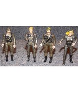 Vintage 1980s Eagle Force Lot of 4 Die Cast Figures - $29.99