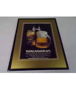 1986 Miller Genuine Draft Beer 11x14 Framed ORIGINAL Advertisement - $32.36